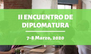 II Encuentro de diplomatura