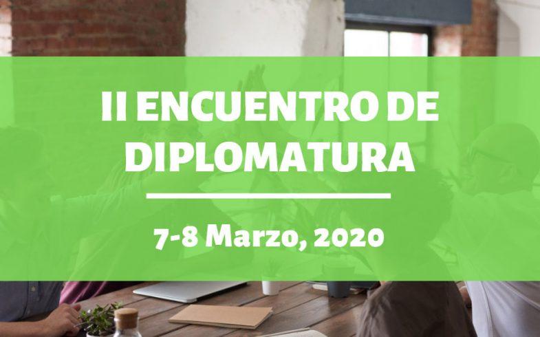 II Encuentro De Diplomatura, 7-8 Marzo, 2020