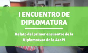 I Encuentro de la Diplomatura